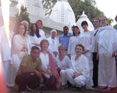 Dr Maurya with Russian students 2008